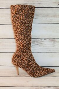Women's Animal Printed Pull On Boots Size 10 LIKE NEW