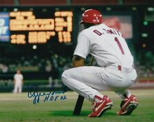 Ozzie Smith Signed Autograph 8X10 Photo St Louis Cardinals