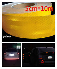 Car Body Stickers Night Safety Warning Effect Yellow Reflective Conspicuity Tape