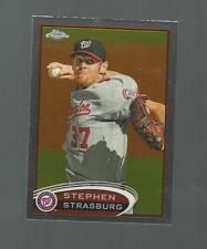 STEPHEN STRASBURG  TOPPS CHROME 2012 CARD # 70