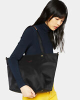 NWT $245 MZ Wallace SOHO Tote Bag Nylon Leather Trim Black Bedford