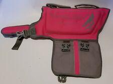 DOG LIFE JACKET Coat Vest Saver Safety Swimsuit Preserver Handle VIVAGLORY Pink