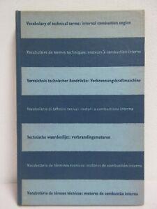SHELL, DICTIONARY Technic, Wörterbuch Technik,Dictionnaire Technique, 7-sprachig