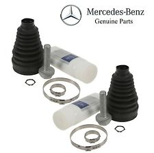 NEW W220 S430 S500 2003-2006 Front Left & Right Inner CV Axle Boot Kits Genuine