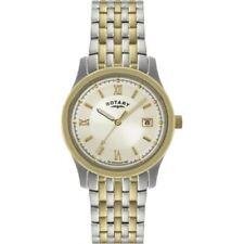Rotary Silver Case Quartz (Automatic) Wristwatches