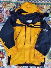Columbia Titanium Omni Tech Hoodie Parka Jacket Sz M Windbreaker Vintage 90s