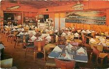 Treasure Island Florida~Interior of Kingfish Restaurant~Folded Napkins