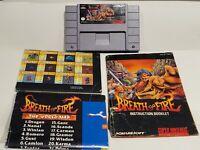Breath of Fire SNES (Super Nintendo Entertainment System, 1994)