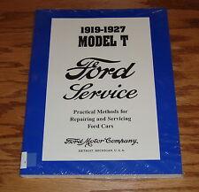 1919-1927 Ford Car Model T Service Shop Manual 20 21 22 23 24 25 26