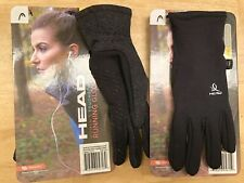 Ladies HEAD Warm Sensatec Running Touchscreen Gloves, Free Post