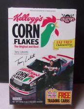 Vtg Kellogg's Corn Flakes Cereal Box Terry Labonte 1994 Racing