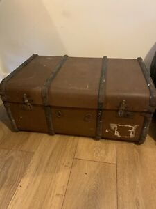 Old Suitcase Trunk Vintage From Approx 1910