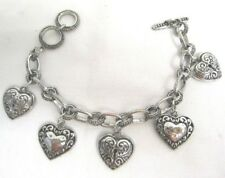 Western Cowgirl Bracelet/Chain Bling Hearts - New