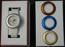 Brand New Women's Momentum ALTER EGO Watch BONUS 3 FREE BEZEL RINGS Gift