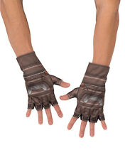 Captain America Gloves, Kids Avengers Age Of Ultron Costume Accessory, one size