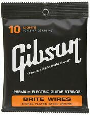 Gibson Brite Wires Electric Guitar Strings 10-46