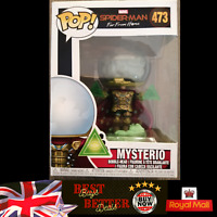Funko Pop! MYSTERIO 473 Marvel Spider-Man Far From Home Vinyl NEW