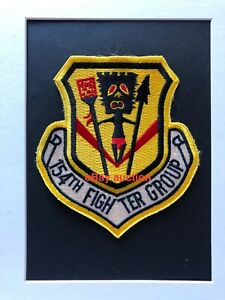 Original oldie USAF 154th Fighter Group (ANG) patch