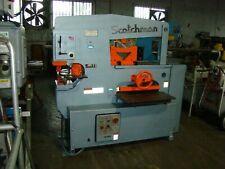 SCOTCHMAN Model 9012-24M 90 Ton Hydraulic Ironworker