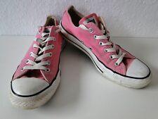 Converse All Star Chucks Sneaker Turnschuhe Slim Low Stoff Pink Gr. 6 / 39