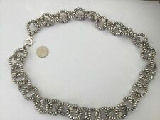 "Beautiful 24"" L Sterling Silver And Gray Freshwater Pearls Necklace!"