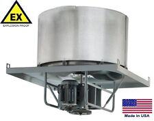 "New listing Roof Exhauster Fan - Explosion Proof - Belt Drive - 24"" - 230/460V - 4900 Cfm"