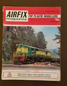 Vintage AIRFIX MAGAZINE for Plastic Modellers... Vol 14 No.1... September 1972.