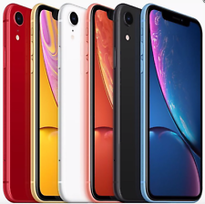 Apple iPhone XR 64GB 128GB 256GB - SCHWARZ WEIß BLAU GELB KORALLE  - NEU OVP UK