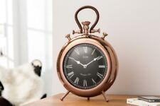 Wanduhr Standuhr Kaminuhr Uhr Deko Quarzuhr Art Deko Kupfer Metall 40 cm  NEU