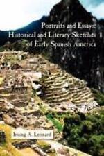 Estudios de Literatura Latinoamericana: Portraits and Essays : Historical and...