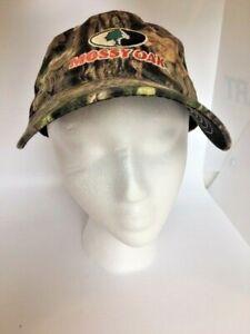 Mossy Oak Camo Mesh Back Mens Cap Hat Outdoor Cap Co  Adjustable