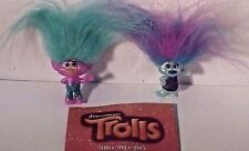 trolls mini figures X2 series 6