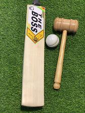 Spartan The Boss Chris Gayle Grade 1 English Willow Cricket Bat Knocked