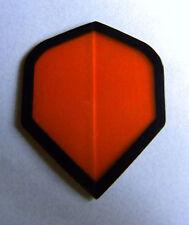 Dart Flights -5 Orange No Stinkin' Logos Standard Sets