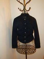 Steampunk fans! Fantastic Black Military Jacket by H&M Size 6