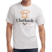 Chefkoch Grillen Barbecue Kochen Sprüche Geschenk Lustig Spaß Comedy Fun T-Shirt