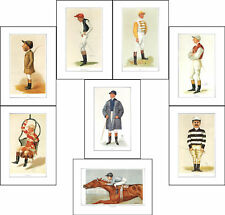 JOCKEYS - 10  SETS  OF  8  JOCKEYS  OF  VANITY  FAIR  PRINTS  -  (REPRODUCTIONS)