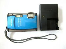 Olympus Stylus Tough 6000 waterproof FULL SPECTRUM IR 10 MP Digital Camera Blue