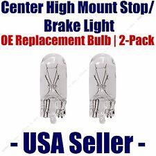 Center High Mount Stop/Brake Bulb 2pk - Fits Listed Volkswagen Vehicles - 2825