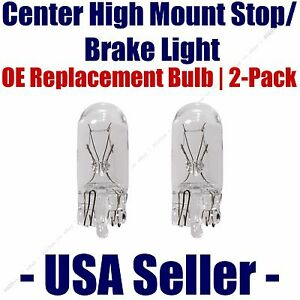 Center High Mount Stop/Brake Bulb 2pk - Fits Listed BMW Vehicles - 2825