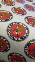 NRA National Rifle Association Decal Sticker Gun Rights 2nd Amen 2 DECALS