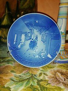 Piatto da collezione in porcellana danese Natale Jule After 1979