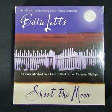 Shoot the Moon by Billie Letts (2004, Audiobook on 5 CD's)  Lou Diamond Phillips