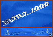 FIAT 600 ABARTH 1000 - SCRITTA LOGO BADGE MONO 1000