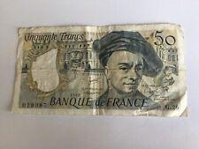 Billet France 50 Francs Quentin De La Tour 1982 (91-34)