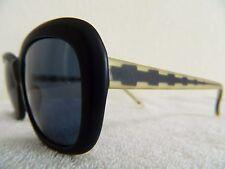 Vintage sunglasess Christian Roth 80's mod 2002 plastic Black 57mm  large big