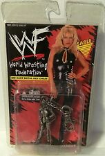 WWF Sable Keychain NIB Placo Toys WWE NIP World Wrestling Federation