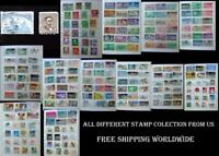 All Different Stamp collection From US, Free Shipping Worldwide