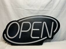 Open Sign Led Electric Light Up For Business Displays With 2 Flashing Modes