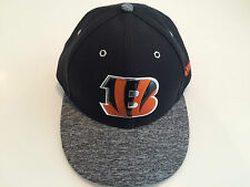Cap Hat Cincinnati Bengals New Era Gray 2016 NFL Draft Low Profile 59Fifty 7 3/8